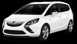 Opel Zafira or Similar (Aut. 7 Seats) | Недорогая прокат аренда автомобиля в Израиле | RentCarIsrael.online