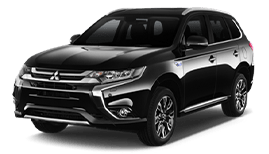 Mitsubishi Outlander or Similar (Aut. 7 Seats) | Недорогая прокат аренда автомобиля в Израиле | RentCarIsrael.online
