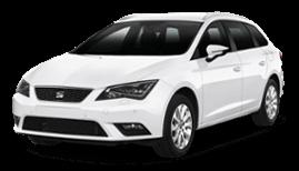 Seat Leon SW or Similar | Недорогая прокат аренда автомобиля в Израиле | RentCarIsrael.online
